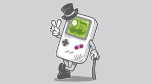 GameBoy Vintage Video Games Gray Top Hats Top Hat Gray Background 1920x1080 Wallpaper