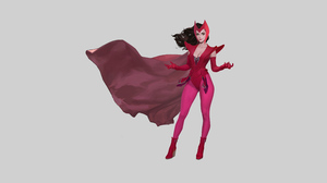 Marvel Comics Scarlet Witch 3840x2160 Wallpaper