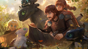 Hiccup How To Train Your Dragon Toothless How To Train Your Dragon Dragon 3487x2217 Wallpaper