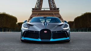 Black Car Bugatti Bugatti Divo Car Paris Sport Car Supercar Vehicle 2731x1536 wallpaper