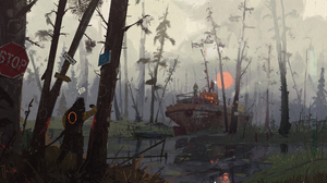 Post Apocalyptic 2500x1367 wallpaper