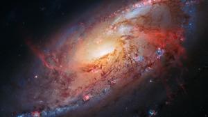 Hubble Deep Space Space NASA USA Galaxy Universe 2560x1440 Wallpaper