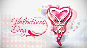 Colorful Heart Valentine 039 S Day 5490x4500 Wallpaper