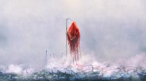 Horror Mariusz Lewandowski Digital Art Fan Art Photoshop Painting Creepy 3840x2160 Wallpaper