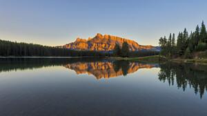Landscape Nature Mountains Lake 4096x2731 Wallpaper