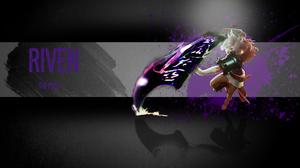 Riven League Of Legends 1920x1080 wallpaper