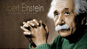 Albert Einstein 1920x1080 wallpaper