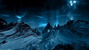 Sci Fi Landscape 2560x1600 Wallpaper