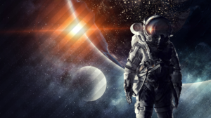 Sci Fi Astronaut 3840x2160 wallpaper