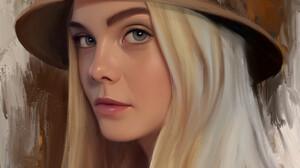 Stam Quito Digital Art Artwork Drawing Fan Art Digital Painting Portrait Portrait Display Elle Fanni 2550x3300 Wallpaper