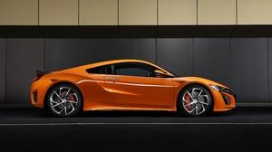 Honda Car Orange Car Sport Car Supercar 5120x2880 Wallpaper