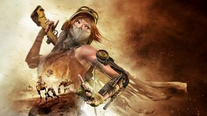 Video Games ReCore Women Video Game Art 2560x1440 Wallpaper