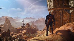 Desert Geralt Of Rivia The Witcher 3 Wild Hunt 1920x1080 wallpaper