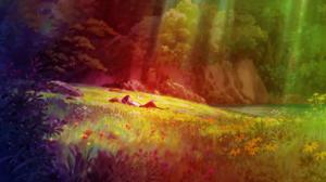 Boy Flower Meadow 3840x2160 Wallpaper