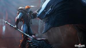 Guardians Of The Galaxy Game Square Enix Marvel Comics 4K Dragon Warrior 3840x2160 Wallpaper