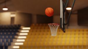 Render Blender Basketball Basketball Court 1920x1080 Wallpaper