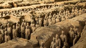 Terracotta Warriors China Historical Relic Historic 4801x3201 wallpaper