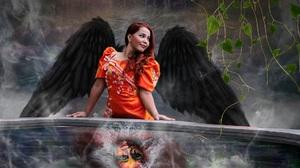 Fantasy Angel 1920x1176 Wallpaper