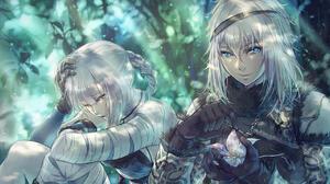 NieR NieR Replicant Kaine NieR Anime Silver Hair 1280x850 Wallpaper