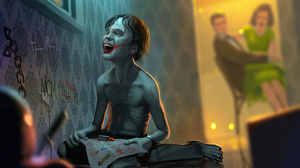 Child Dc Comics Joker 3840x2160 wallpaper