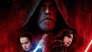 Adam Driver Daisy Ridley Kylo Ren Lightsaber Luke Skywalker Mark Hamill Rey Star Wars Star Wars Star 7680x4320 Wallpaper