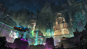 Sci Fi Cyberpunk 1920x1080 Wallpaper
