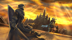 Knight Warrior Sword 3125x1785 Wallpaper