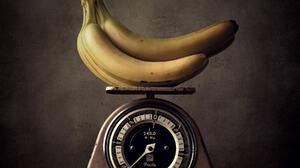 Michael Schnabl Still Life Food Fruit Bananas Scale Bunch Of Bananas Reflection 1800x1800 Wallpaper