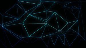 Abstract Blue 2560x1440 Wallpaper
