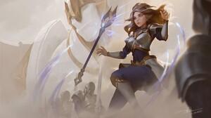 League Of Legends Lux League Of Legends Dao Trong Le 3000x1688 Wallpaper