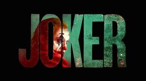 Joker DC Comics Typography Black Background 7680x4320 Wallpaper