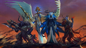 Blizzard Entertainment World Of Warcraft World Of Warcraft Shadowlands 3000x1705 Wallpaper