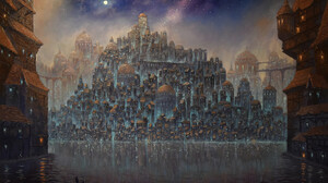 Fantasy City 1920x1280 Wallpaper
