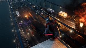 Miles Morales Spider Man Video Games High Angle From Behind 3840x2160 Wallpaper