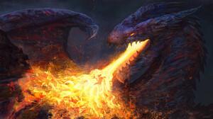 Fantasy Dragon 2560x1440 Wallpaper
