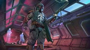 Boba Fett Bounty Hunter Star Wars 1920x1080 Wallpaper