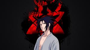 Naruto Anime Uchiha Sasuke 1920x1080 Wallpaper