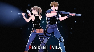 Claire Redfield Leon S Kennedy Resident Evil 2 2019 1920x1080 Wallpaper