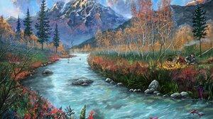 River Fish 1920x1306 Wallpaper