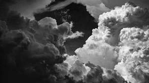 Clouds Nature Photography Monochrome Sky Texas Landscape 5461x3072 Wallpaper