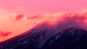 Sunset Clouds Mountains 2189x1459 Wallpaper