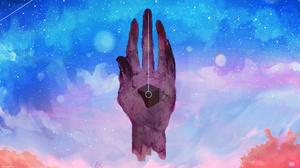 Music Porter Robinson EDM Digital Anamorphic Hands Cube Stars Sky 1920x1080 Wallpaper