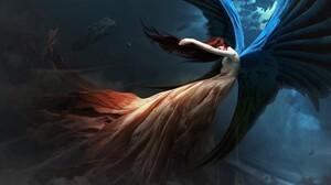 Angel Angel Wings 3840x2400 Wallpaper