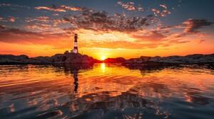 Man Made Lighthouse 2560x1600 Wallpaper