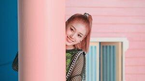 J STAYC STAYC K Pop Pink Hair Asian 2048x1364 wallpaper