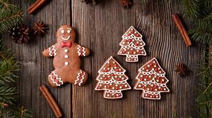 Christmas Cinnamon Cookie Gingerbread 5616x3744 Wallpaper
