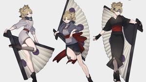 Anime Anime Girls Naruto Anime Naruto Shippuuden Simple Background Temari Higurashi 77 2486x2000 Wallpaper