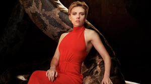 Actress Model Red Dress Scarlett Johansson Woman 2317x1545 Wallpaper