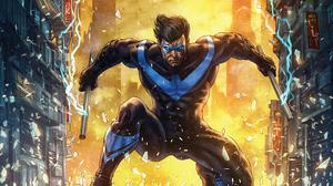Dc Comics Dick Grayson Nightwing 3840x2160 Wallpaper