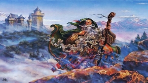 Fantasy Wizard 3840x2160 wallpaper